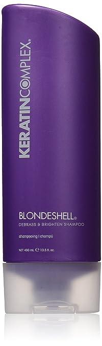 Keratin Complex Blondeshell Debrass & Brighten Shampoo 13.5 oz
