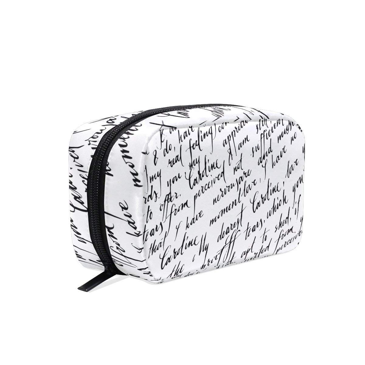 Love Letter Makeup Case Bag Appropriate Capacity Portable Beauty Girl And Women Cosmetic Bags Storage Bags for Travel