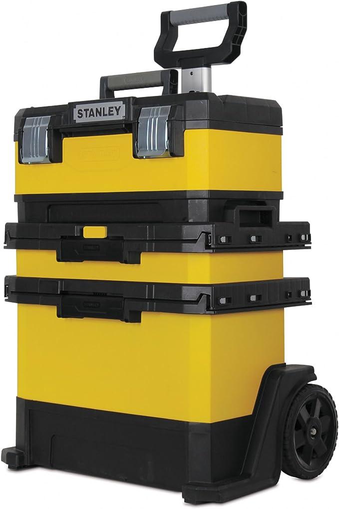 STANLEY 1-95-621 - Caja de herramientas modular, 26 x 25 x 48 cm: Amazon.es: Bricolaje y herramientas