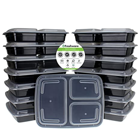 Review Freshware Meal Prep Containers