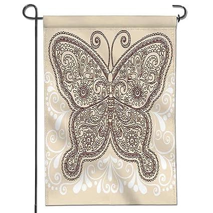 93e1e913f Jiahonghome Nice Design Hello Summer Hand Drawn Ornate Butterfly Henna  Mehndi Paisley Doodle Tattoo Design Element