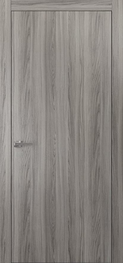 Planum 0010 Interior Door Ginger Ash Pre Drilled With Trims, Frame, Handle,  Hinges