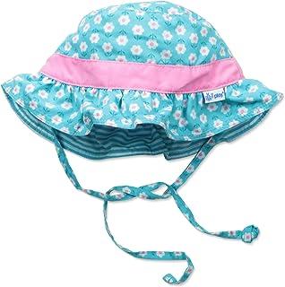 2685974fc Amazon.com: i play. Baby Girls Reversible Bucket Sun Protection Hat ...