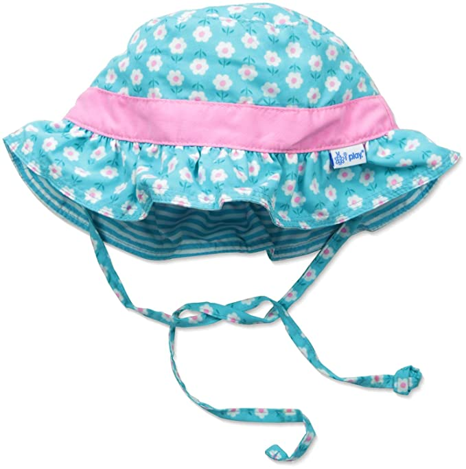 f887afea1ef Amazon.com  i play. Baby Toddler Reversible Bucket Sun Protection ...