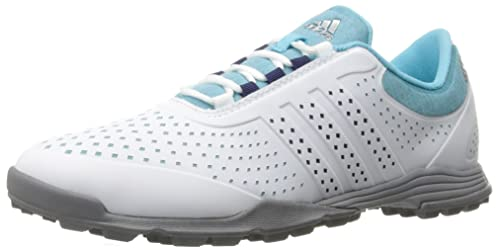 outlet store cd532 3c4df adidas Women s Adipure Sport Golf Shoe, Blue, ...