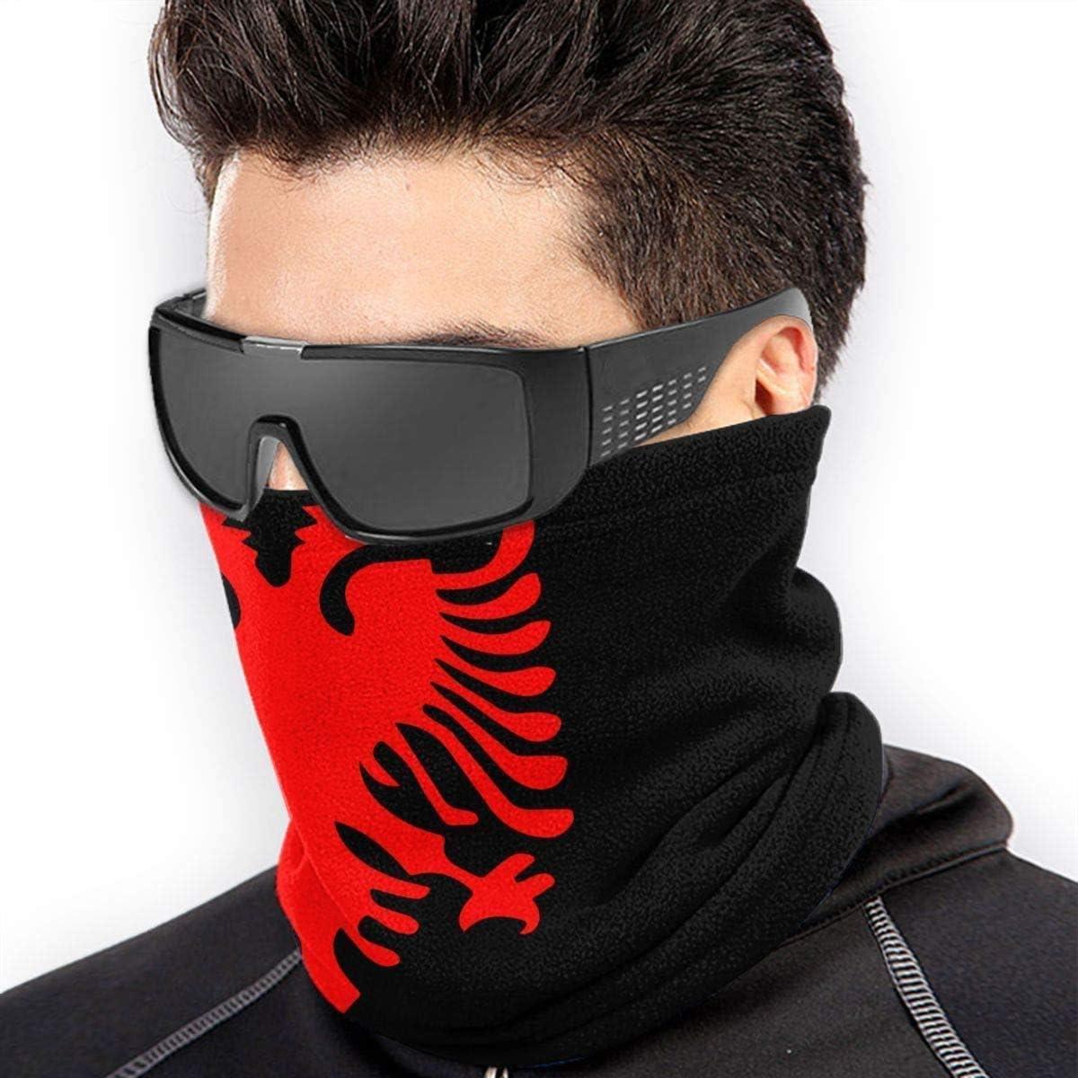 Motorradfahren,24X52Cm Multifunktionales Stirnband F/ür M/änner NA Halsw/ärmer Bandana,Nationales Emblem Von Albanien Head Bandana Frauen