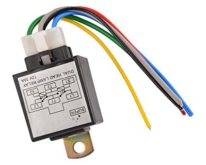 Super 1304 Dual Head Lamp Relay on