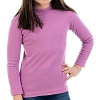 Pack de 2 semicisne Lacotex Infantil L127 de algodón, Manga Larga, Medio Cuello. Camiseta para niño y niña con Interior…