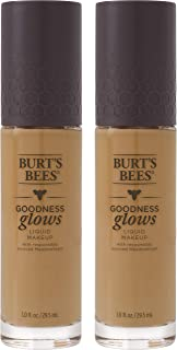 product image for Burts Bees Goodness Glows Liquid Foundation, Pecan, 1.0 oz, Pack of 2