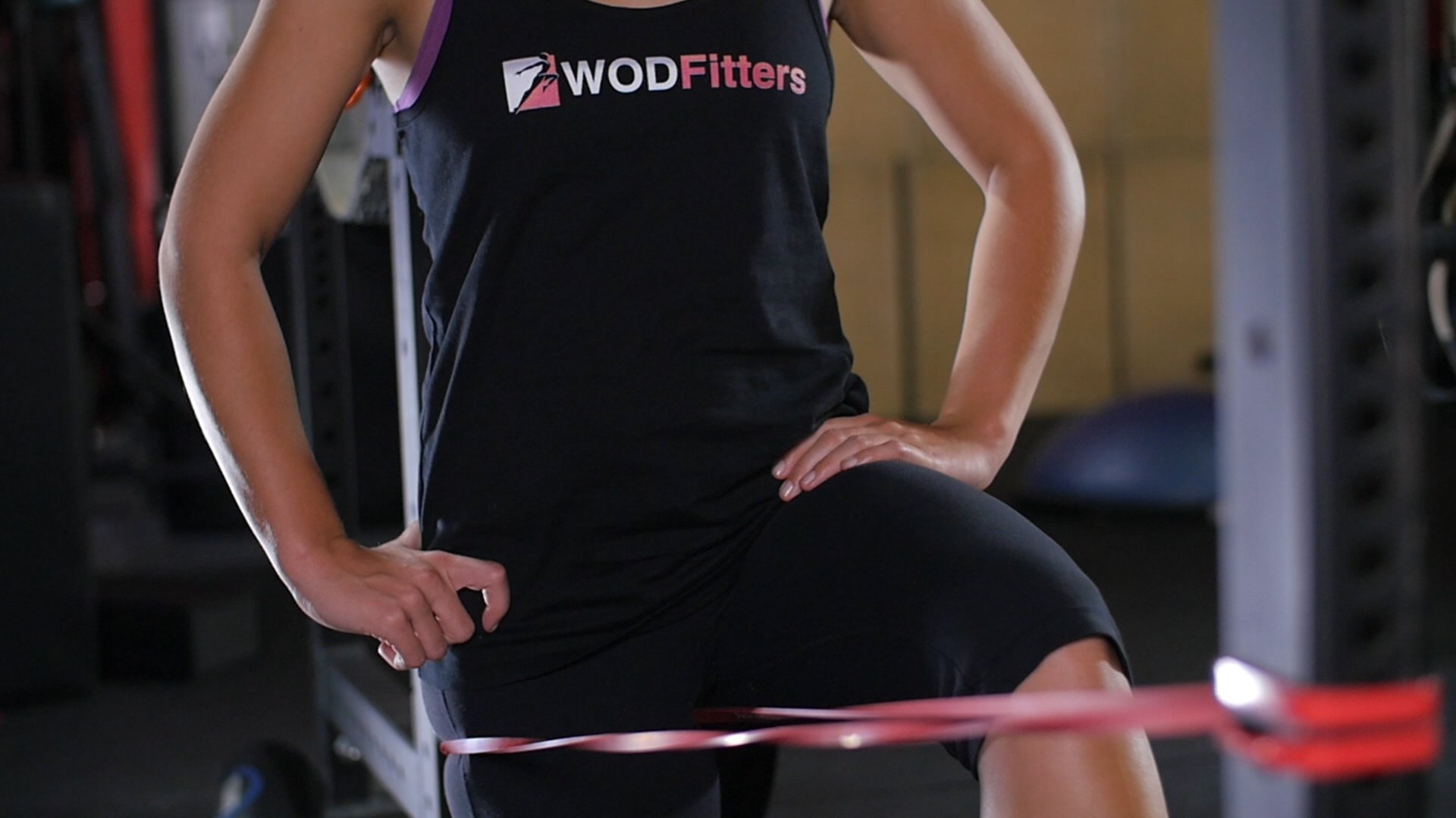 WODFitters Stretch Resistance Pull Up Assist Band with eGuide, #1 Red- 10 to 35 Pounds (1/2 ''4.5mm) by WODFitters (Image #4)