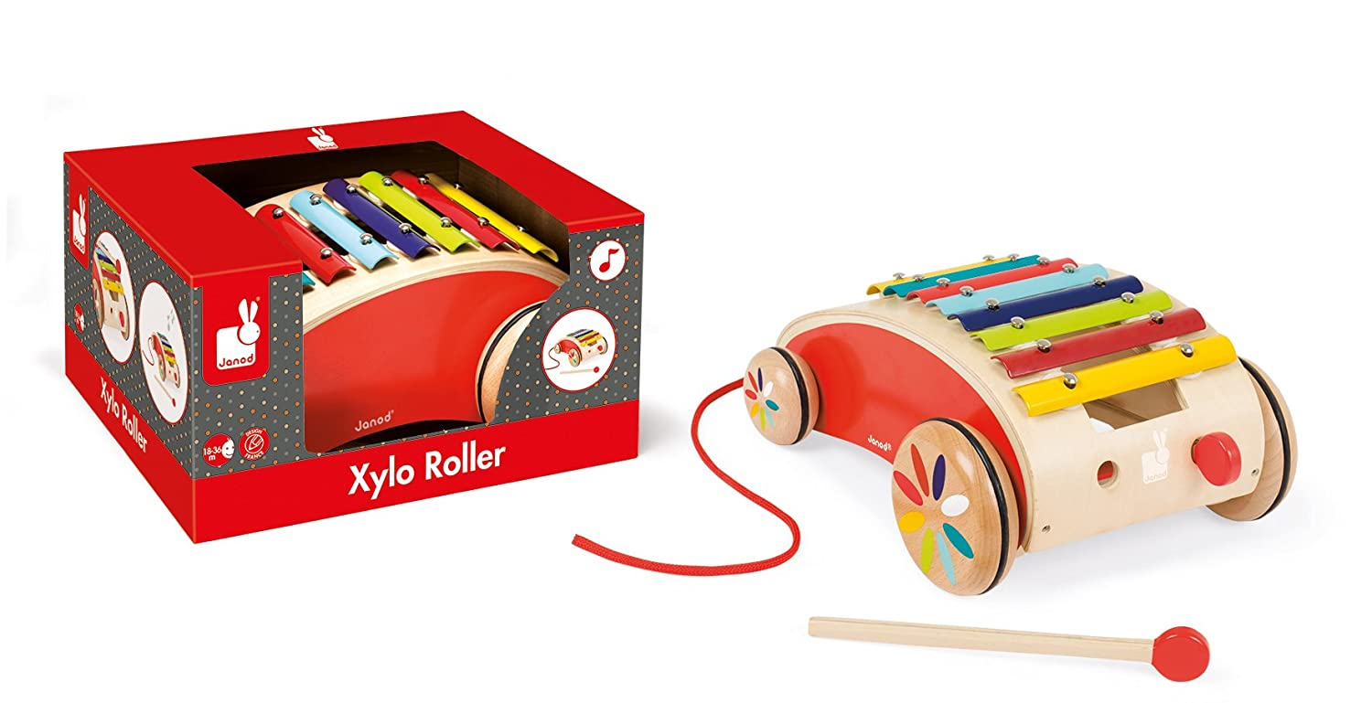 Xylo roller rouge Tatoo J05380 Janod