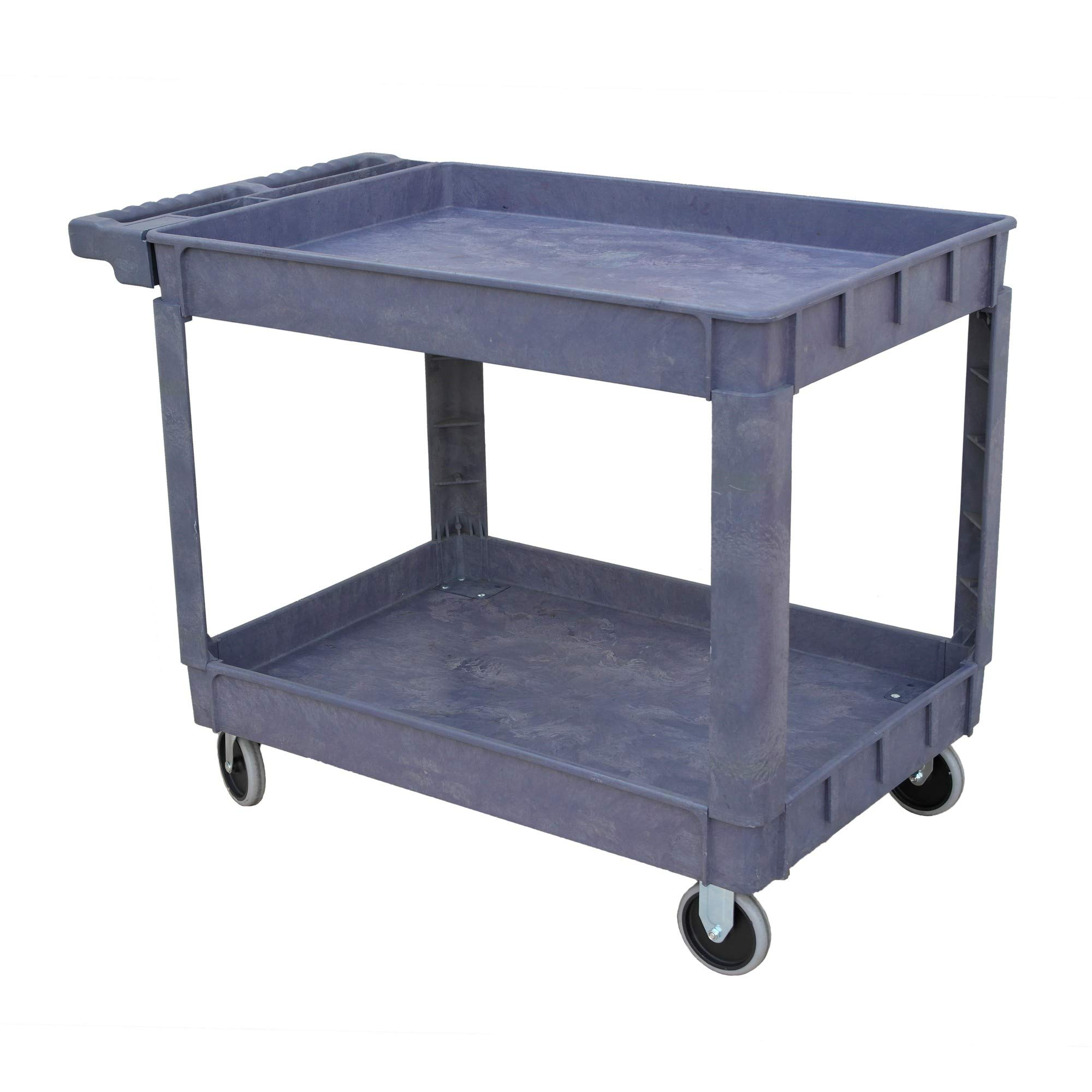 Storage Concepts Heavy Duty Service Cart, 600 Lbs. Weight Capacity, 30'' W x 16'' D x 32'' H