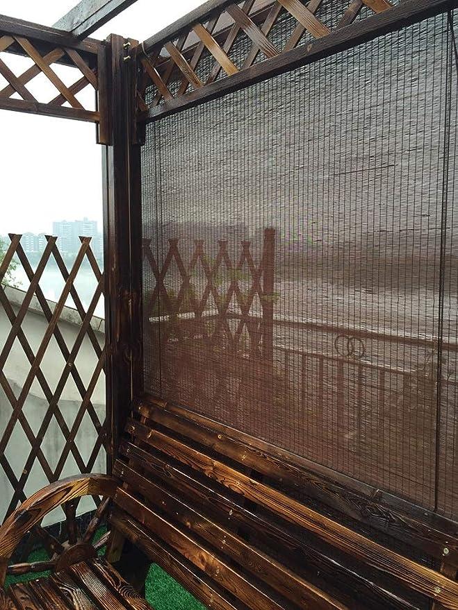 Persiana Enrollable Persiana Enrollable Blackout en Diferentes Tamaños - Cortina Enrollable de Pérgola para Porche Exterior, 60cm / 80cm / 100cm / 120cm / 140cm de Ancho (Size : W 100cm × H 100cm): Amazon.es: Hogar