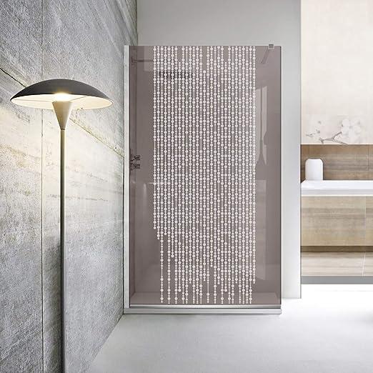 Modern Leroy Timeless - Mampara de ducha (8 mm, cristal templado de seguridad, nano, acero inoxidable SS304), blanco: Amazon.es: Bricolaje y herramientas