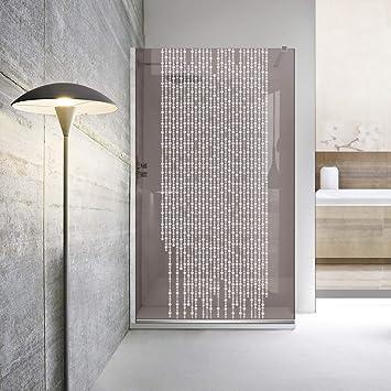 Modern Leroy Timeless - Mampara de ducha (8 mm, cristal templado ...