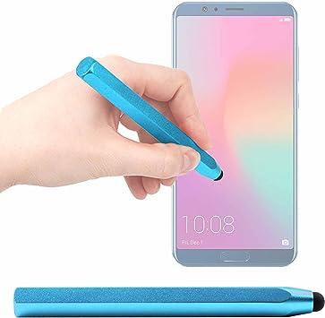 DURAGADGET Lápiz Stylus Azul para Smartphone Huawei Honor 10 / LG ...