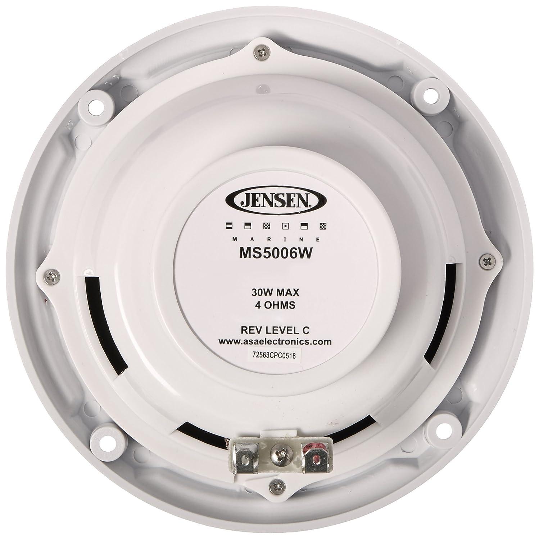asa electronics ms5006wr speaker automotive