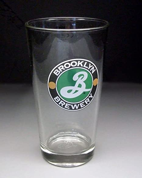 2dd23370 Personalised Engraved Brooklyn Brewery Branded Lager Beer Glass with Gift  Box: Amazon.co.uk: Kitchen & Home