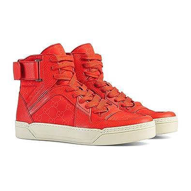 Chaussures De Sport De Haut - Rouge Haut Gucci AOLAY