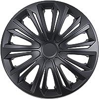 NRM Strong Wheel Covers Strong 4 x Universal Wheel Covers Set of 4 Black Matt (