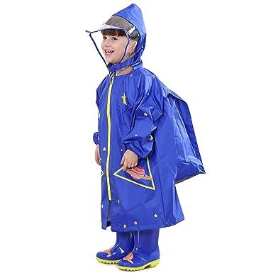 neueste kaufen verschiedenes Design populäres Design Bwiv Regenponcho Kinder Wasserdicht Atmungsaktiv Leicht ...