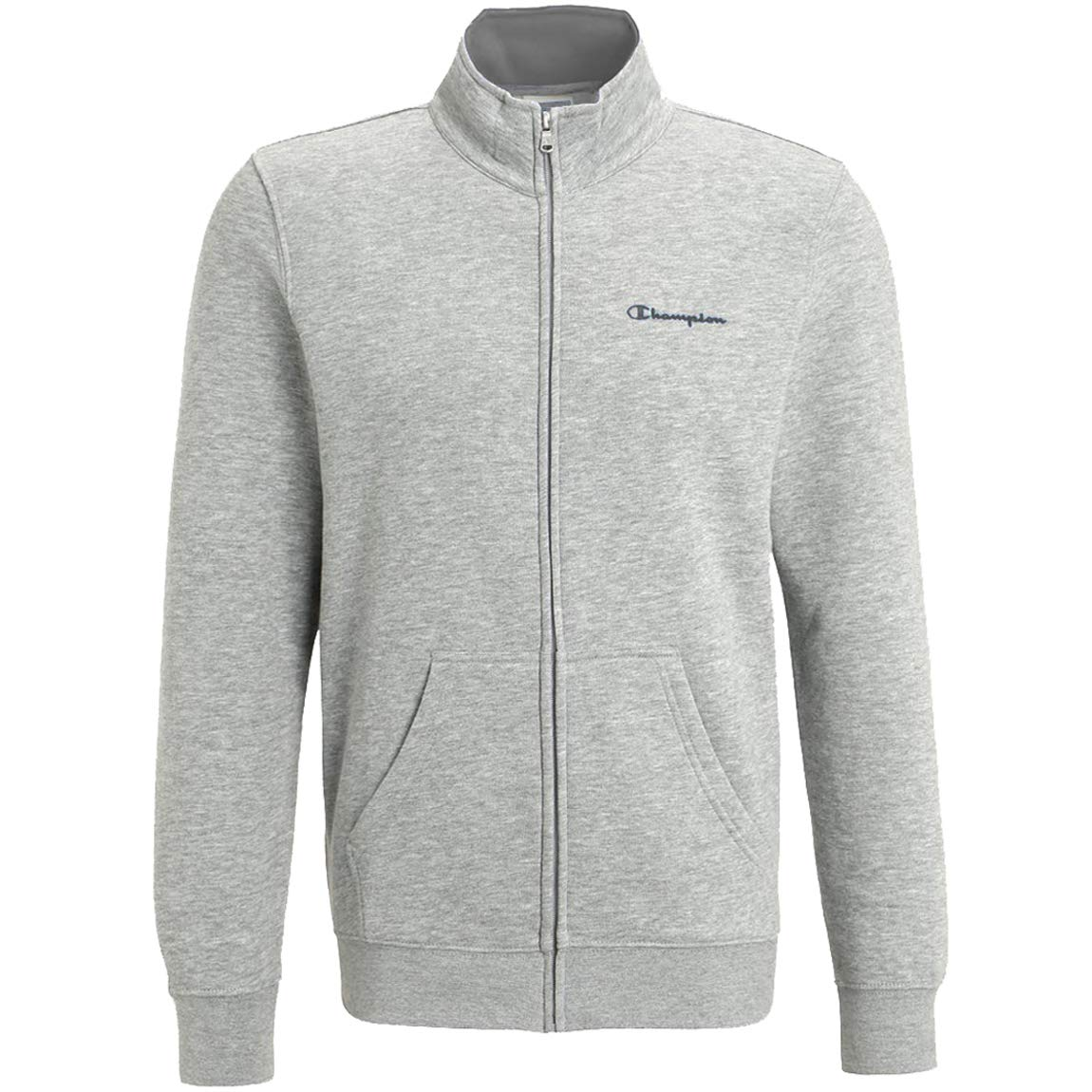 fed8a13d3bd7 Amazon.com  Champion Full Zip Long Sleeve Sweatshirt - Grey  Sports    Outdoors