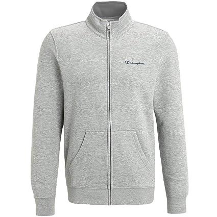 371f7d15 Amazon.com: Champion Full Zip Long Sleeve Sweatshirt - Grey: Clothing