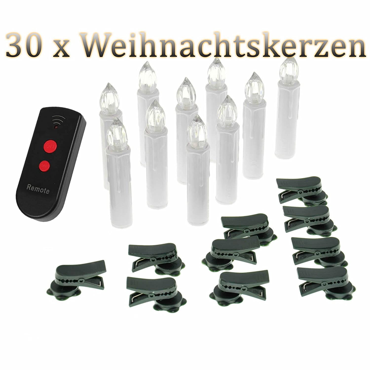 Kabellose led weihnachtsbeleuchtung mit fernbedienung my - Led weihnachtsbeleuchtung kabellos ...