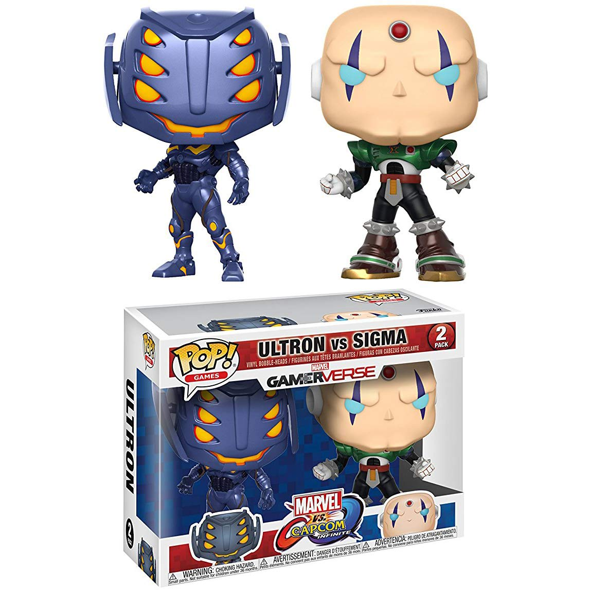 MARVEL ULTRON CAPCOM VS Sigma POP Figura in vinile Multi Pack Funko POP