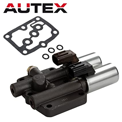 AUTEX Transmission Dual Linear Solenoid Compatible With 98 99 00 01 02 Honda Accord