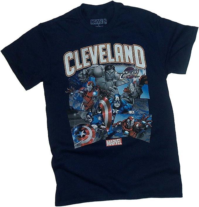 NBA / Marvel Comics -- Cleveland Cavaliers -- Avengers -- Adult T-