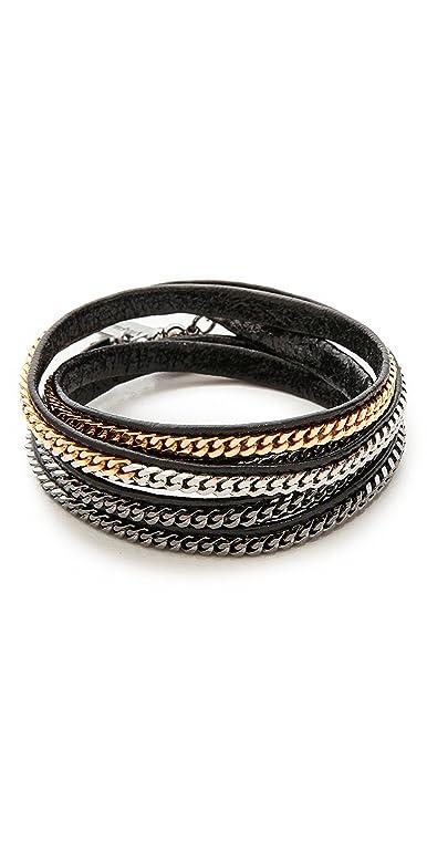 Vita Fede Capri 5 Wrap Bracelet TkVNX66O