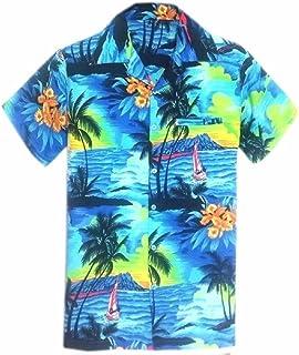 0662669c SAITARK Mens Hawaiian Shirt Stag Beach Hawaii Aloha Party Summer Holiday  Fancy BP