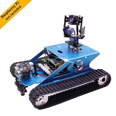Amazon.com: Yahboom Raspberry Pi - Kit de robots ...
