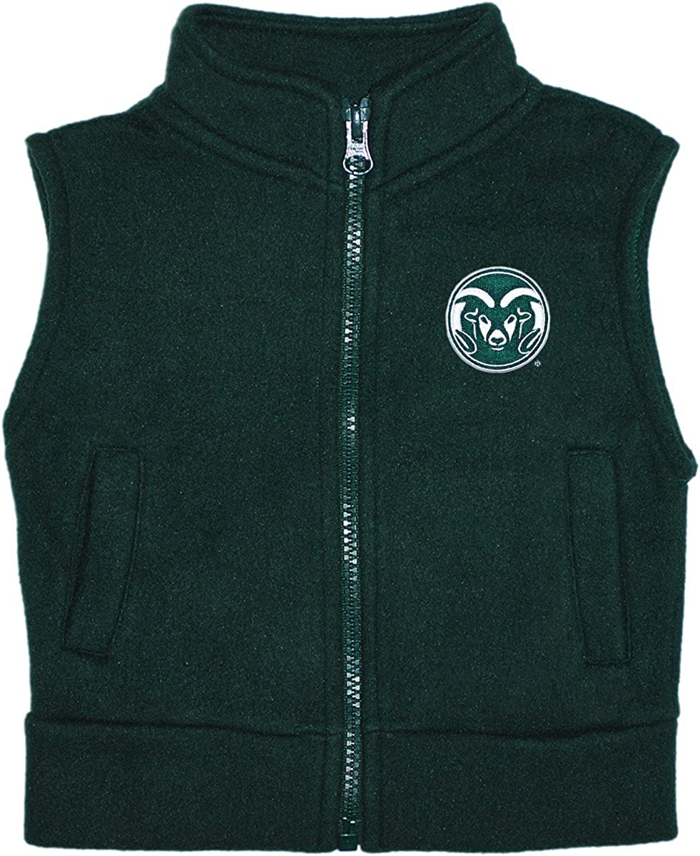 Colorado State University Rams Baby and Toddler Polar Fleece Vest