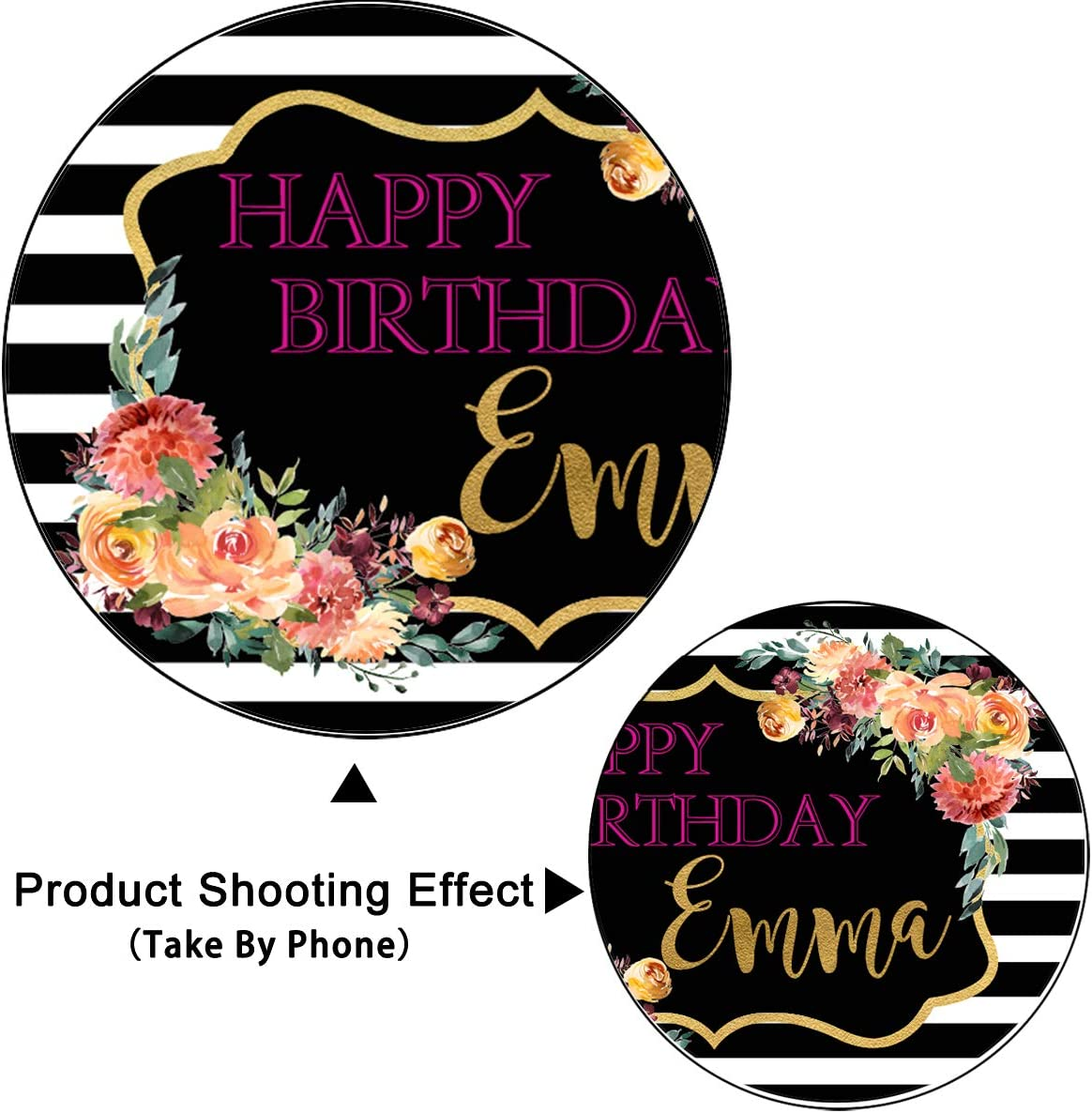 Levoo Anniversary Ceremony Background Banner Photography Studio Birthday Family Party Holiday Celebration Romantic Wedding Photography Backdrop Home Decoration Customizable Words 10x8ft,sxy1293