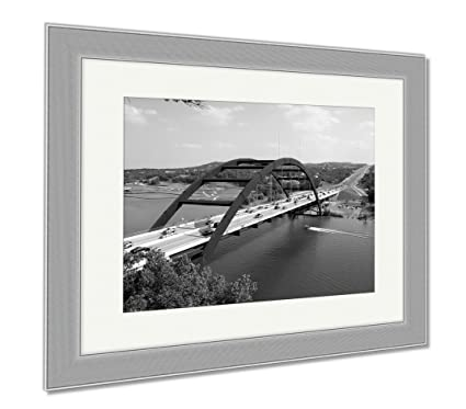 Amazon.com: Ashley Framed Prints Austin 360 Bridge, Wall Art Home ...