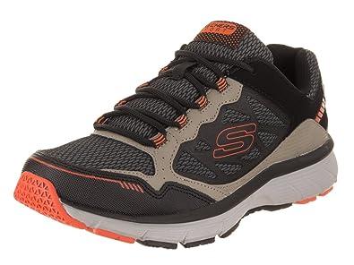 Skechers Herren Bowerz Sneakers Schuhe Schwarz: