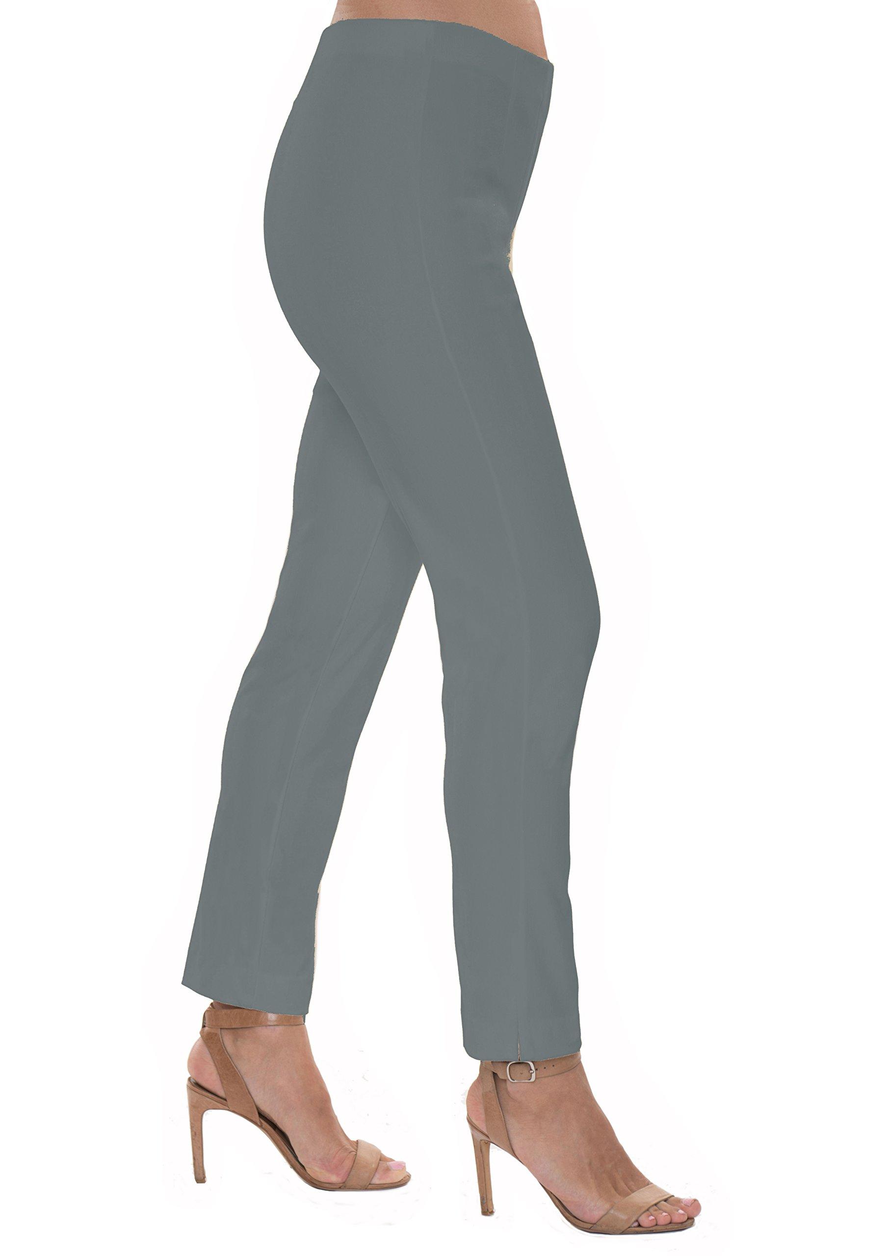 Lior paris Insta-Slim Sleek Fit Pant (Anthracite-2)