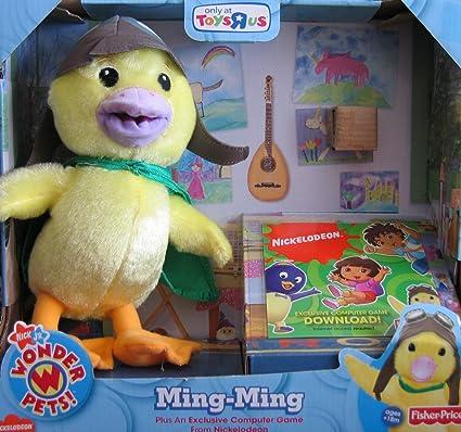 Amazon Com Nick Jr S Wonder Pets Exclusive Plush Ming Ming With