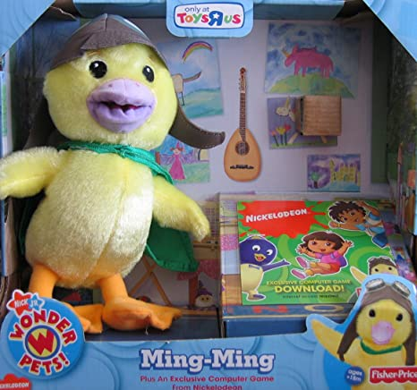 Amazon.com: Nick Jr\'s Wonder Pets Exclusive Plush Ming-Ming With ...