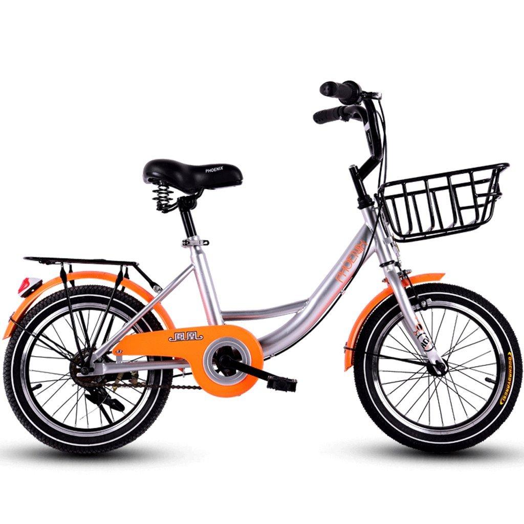 DGF 子供の自転車16インチの女の子の自転車6-12男性と女性の子供の赤ちゃんキャリッジスクール子供の車  Orange B07F3ZDW65
