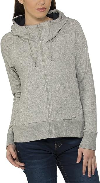 sweat shirt femme gris