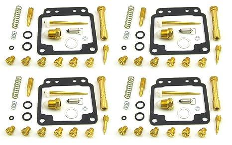 Damineding 4 X Carburetor Carb Rebuild Repair Kits YAMAHA XJ750 / XJ 750  Seca 1982-1985