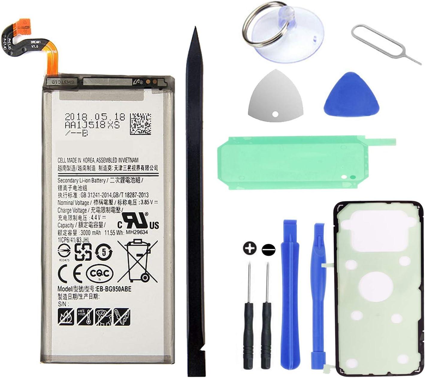 Kit de reemplazo de batería HDCKU Galaxy S8 Plus EB-BG955ABE