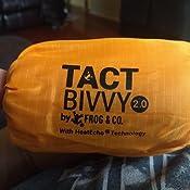 Amazon Com Tact Bivvy 2 0 Compact Ultra Lightweight