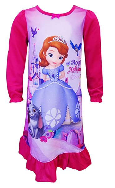 Disney Sofia The First Castles and Crowns Toddler Pajama for Little Girls