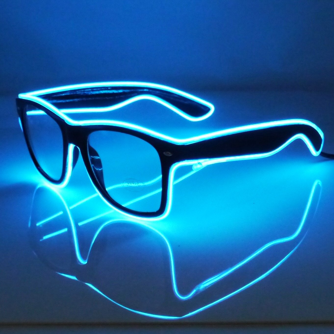 Amazon.com: Light Up El Wire Glasses (Blue): Toys & Games