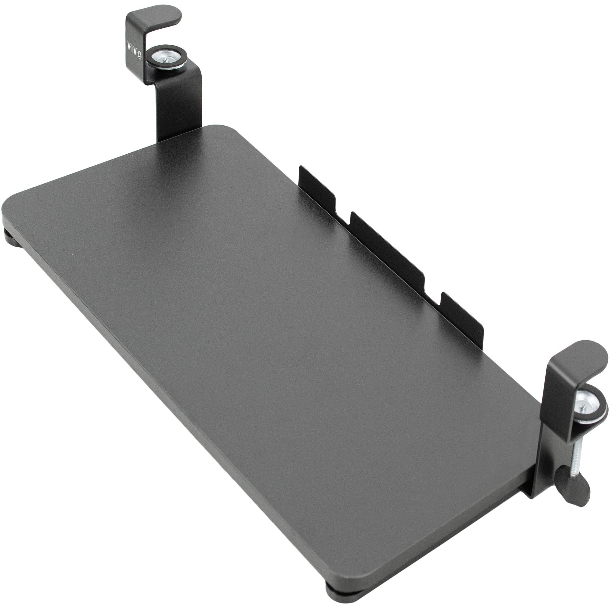 VIVO Clamp-on Computer Keyboard and Mouse Under Desk Slider Tray | 26 x 12 inch Pull Out Platform Drawer (MOUNT-KB05F) by VIVO