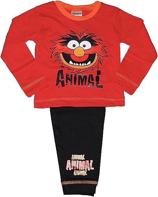 Mens Animal The Muppets Face Pyjamas